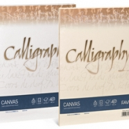 CARTA CALLIGRAPHY CANVAS BIANCO 100GR 50FG
