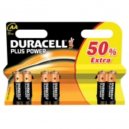 BATTERIE DURACELL STILO MN1500 PLUS POWER 6PZ