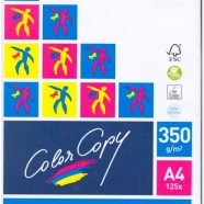 COLOR COPY A4 350GR. 125FG