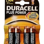 BATTERIE DURACELL STILO MN1500 PLUS 4PZ